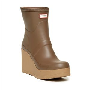 Hunter Original Short - Wedge Rain Boot